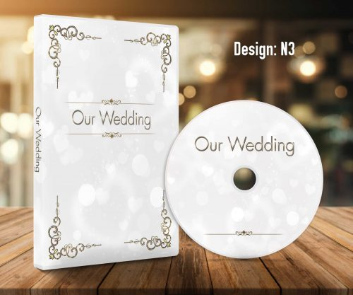 Custom wedding dvd case design print service 2