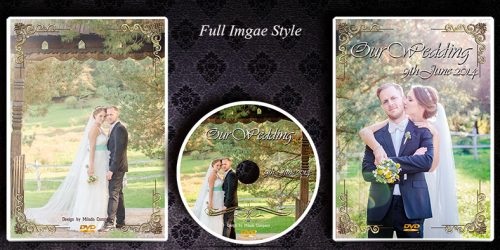 DVD Cd Cover Case & Disc design printing service. Wedding Films London
