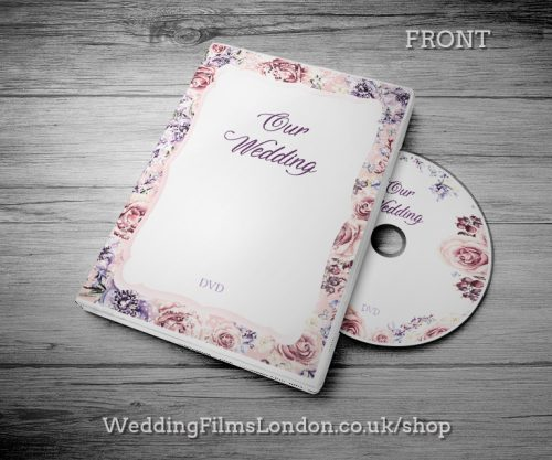 Custom CD Box, Personalised DVD Case - Wedding CD Music Video Wedding Photographs. DVD cover design. Print