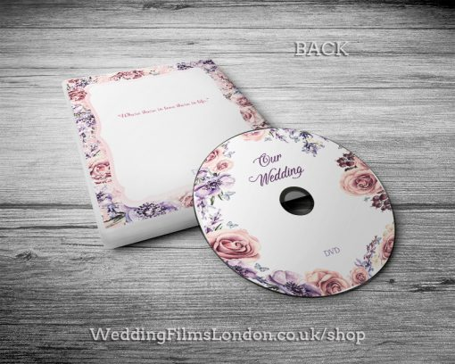 Wedding DVD covers. Music CD cases. Wedding CD boxes. Printed service. Wedding Films London
