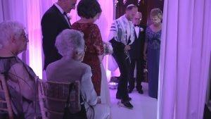 groom braking the glass. Jewish wedding tradition