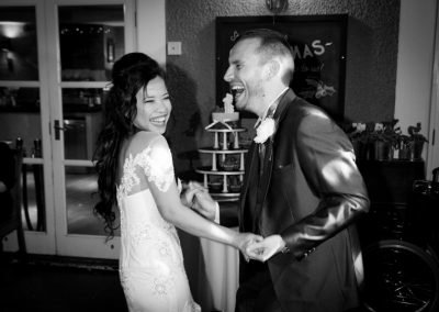 first dance b&w