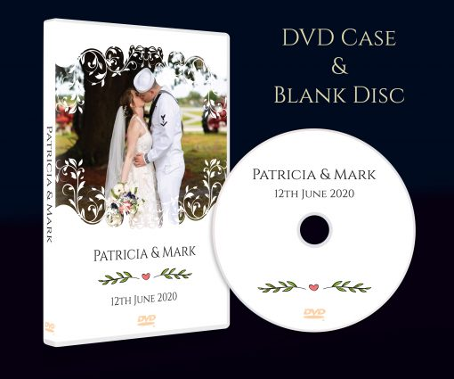 Designed and Printed for you. CD DVD Box Case with printed Disc