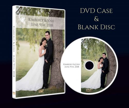 Personalized CD DVD Box Case with printed Disc