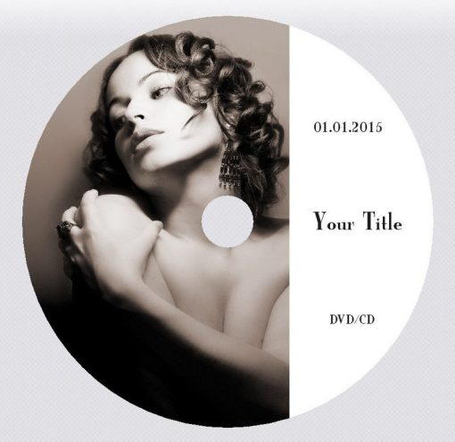 Customised DVD CD disc design and print service